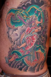 Japanse tattoo